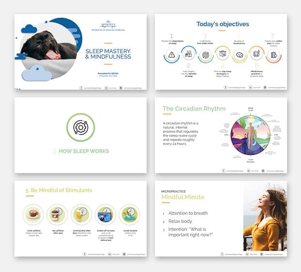 Conscious Beginnings Powerpoint Presentation Mobile